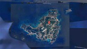 法國與荷蘭在加勒比海的領土聖馬丁島(Saint-Martin)(圖/翻攝自GoogleMap)