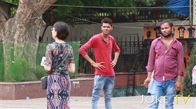 印度,街頭實驗,圖/YouTube