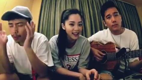 歐陽娜娜唱英文歌 甜美歌聲引瘋傳