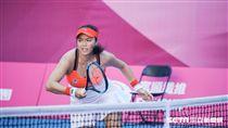 0828世大運網球女子團體中華隊詹詠然。圖/記者林敬旻攝