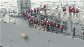 國策基金會,共軍,神盾艦,台海,軍事,補給,艦艇