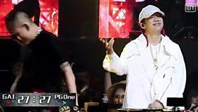 中國有嘻哈、春風、PG ONE圖/翻攝自愛奇藝