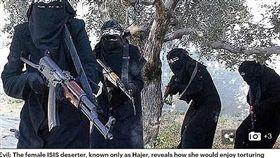 IS,伊斯蘭國,虐待,凌虐,戰士(圖/翻攝自每日郵報)
