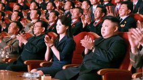 -金正恩-北韓-李雪主-圖/翻攝自勞動新聞