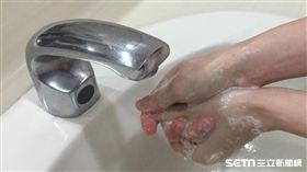 洗手,腸病毒,諾羅病毒,輪狀病毒,肥皂洗手(圖/記者楊晴雯攝)