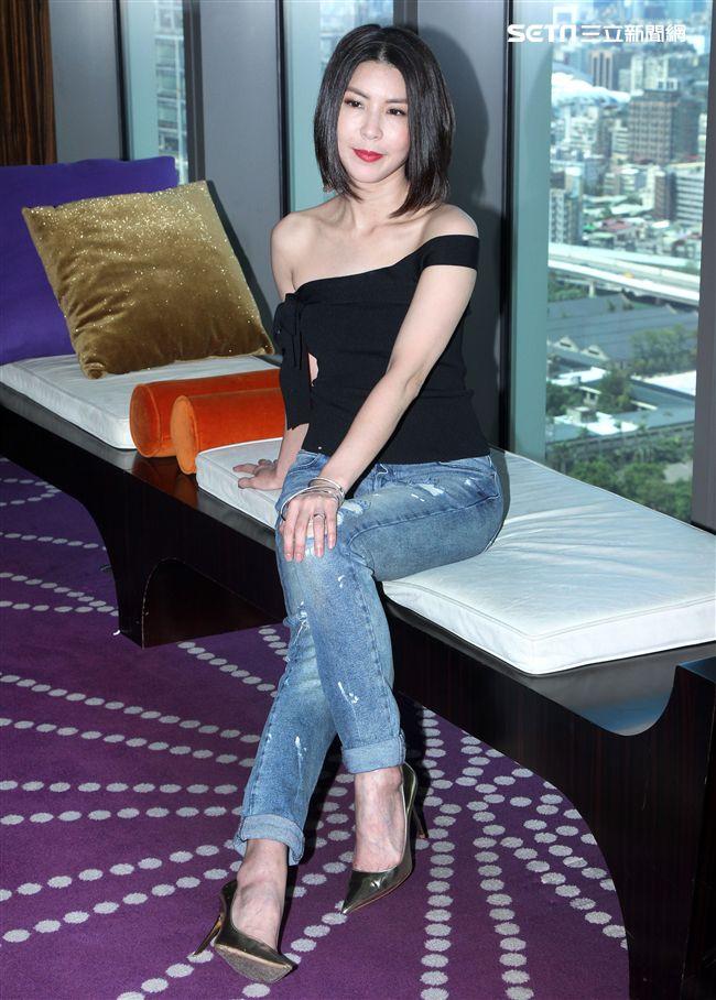 許茹芸在台北、台中舉辦「相約在芸端」 A Night Out With Valen 台灣巡迴演唱會。(記者邱榮吉/攝影)