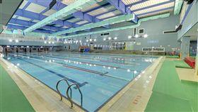 大安運動中心,游泳池(google )