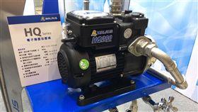 台灣國際水展在高雄展覽館登場,大井WALRUS泵浦產品吸睛。(記者郭奕均攝影)
