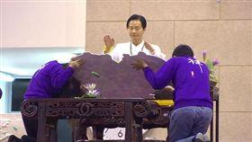 妙禪神教,慶生法會,紫衣人(youtube)