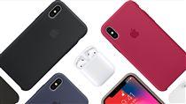 Apple iPhoneX 手機配件(圖/蘋果官網)