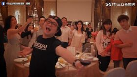 YES先生專業錄影團隊分享拍攝多人假人挑戰的方法。(圖/翻攝自YES先生專業錄影團隊臉書)