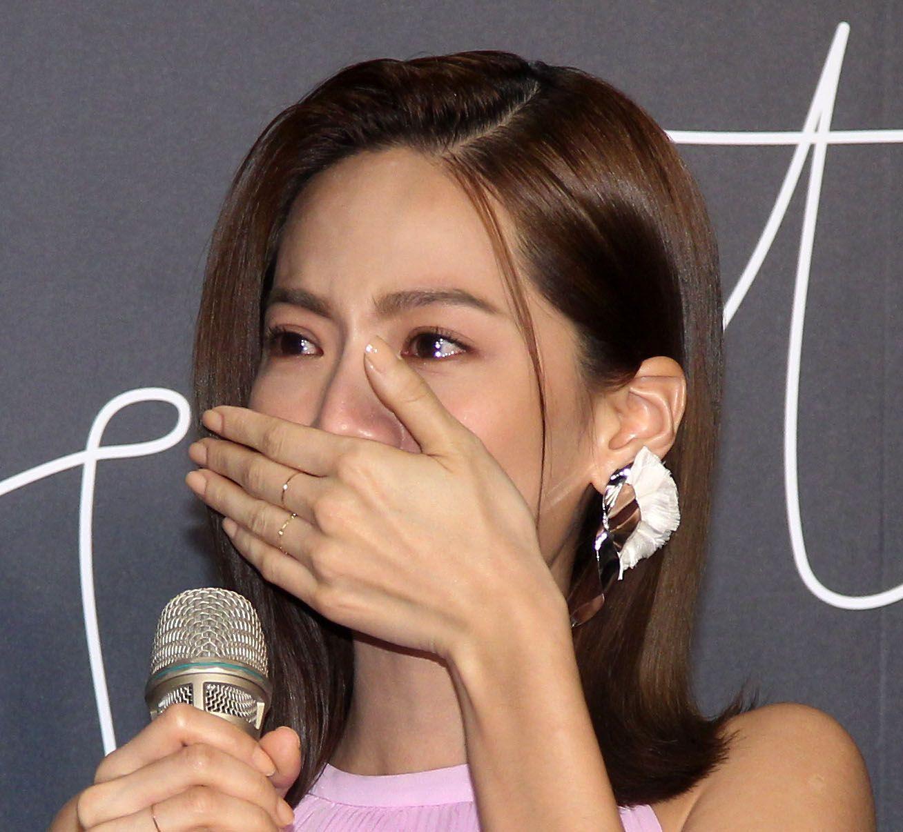 曾之喬再回到歌手身分又發片「亮了」,讓她感動落淚。(記者邱榮吉/攝影)