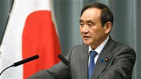 日本政府發言人、內閣官房長官菅義偉 圖/路透社/達志影像