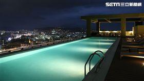 The Gaya Hotel, 台東Gaya飯店,無邊際泳池。(圖/華信提供)