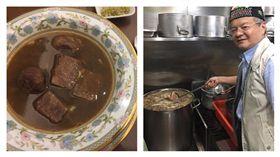 牛爸爸牛肉麵一碗一萬元,CNN認證世界最貴。(記者郭奕均攝影