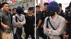 G-Dragon,權志龍,巡迴演唱會,吉隆坡,嘉賓,G-Dragon,畫畫,水彩 (圖/IME提供)
