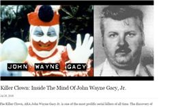 約翰韋恩蓋西(John Wayne Gacy) 