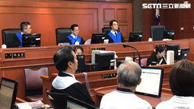 蘇炳坤聲請再審,高院合議庭公開宣示裁定結果。記者潘千詩攝影