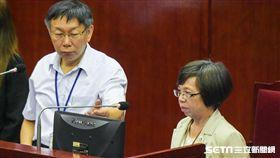 台北市政府秘書長蘇麗瓊 圖/記者林敬旻攝