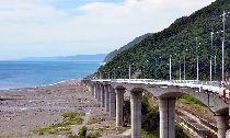 南迴新建金崙大橋 網紅最美麗高架橋(