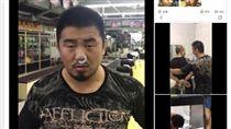 ▲徐曉東公布他拳館遭到挑釁的影片。(圖/截取自臉書)