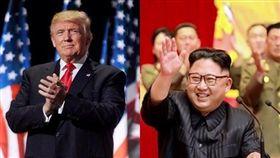 美國總統川普、北韓領導人金正恩(圖/翻攝臉書、Twitter)
