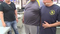 肥胖,胖,肚子,鮪魚肚