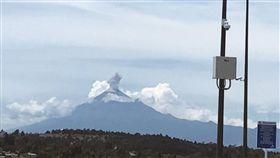 -波波卡特佩特火山-Popocatepetl-圖/翻攝自Twitter