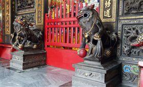 鴻海,郭台銘,媽祖,湄洲媽祖,石獅子(圖/鏡週刊)