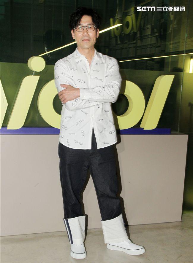 羅時豐安安大明星宣傳新專輯。(記者邱榮吉/攝影)
