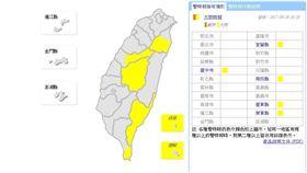 0920大雨特報 圖/翻攝自中央氣象局
