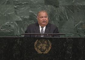 諾魯總統挺台參與國際組織