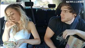 Oleg & Jay分享「當女友說不餓時」的影片。(圖/翻攝自Oleg & Jay臉書)