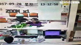 台北市瑞興銀行士林分行宣告偵破,警方訊後將嫌犯林修平依強盜罪移送法辦(翻攝畫面)