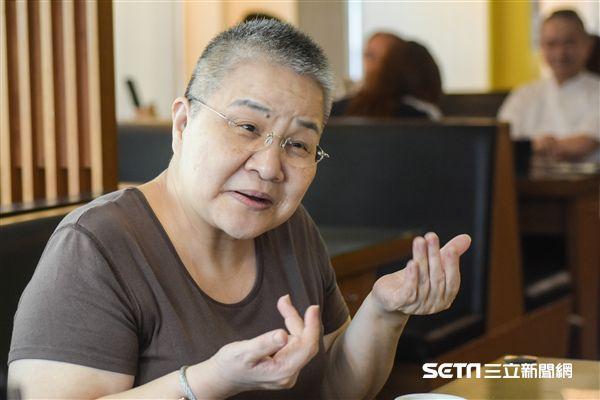 美食家胡天蘭接受三立新聞網專訪 圖/記者林敬旻攝