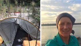英國1名43歲凱爾蒂(Emma Kelty)在亞馬遜遭嫌犯輪姦棄屍在河中(圖/翻攝自Emma Tamsin Kelty推特)