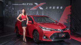 TOYOTA,Corolla Altis X(圖/廠商提供)