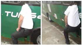 ▲公車司機被車門夾頭死亡。(圖/翻攝自LiveLeak) https://www.liveleak.com/view?i=b79_1505958643