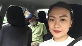 菲律賓,暖心,正妹,計程車,司機,搭車,退休(圖/翻攝自臉書Cristina Tan)https://www.facebook.com/thina.03/posts/1648833115140533?pnref=story