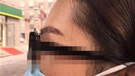 紋眉開運 圖/翻攝自都市快報