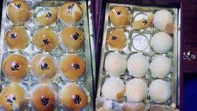 蛋黃酥禮盒掀開長這樣...(圖/翻攝臉書爆料公社)