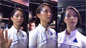 東京電玩展,人形機器人,戀愛,辨識,真假,訓練,扮演,模特兒 圖/翻攝自推特 https://goo.gl/W7w9Sw