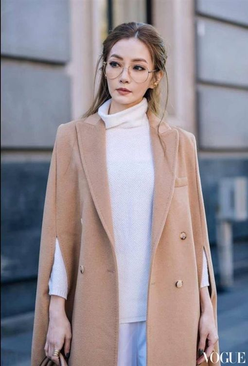 謝金燕,米蘭時尚周,VOGUE,翻攝自VOGUE臉書