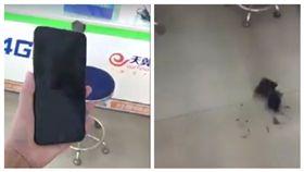 好心痛!買到i8興奮錄影 手一滑…下秒摔到「粉身碎骨」 圖/翻攝自爆料公社