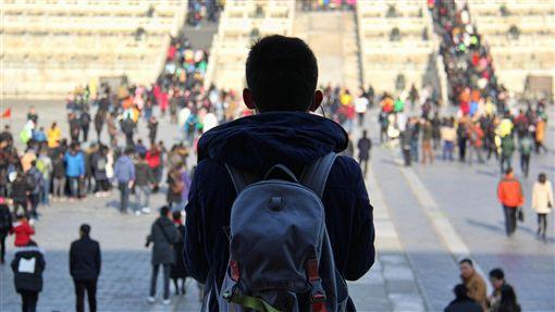 中國,中國大陸,北京,紫禁城,旅行,背包客,年輕人(圖/攝影者Cory Denton, Flickr CC License)https://goo.gl/osVPwM