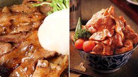 開丼 燒肉vs丼飯,滿燒肉丼(圖/臉書)