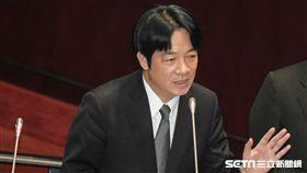 行政院長賴清德26日前往立法院進行施政報告,並接受備詢。 圖/記者林敬旻攝