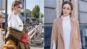 謝金燕,米蘭時尚周,VOGUE(圖/翻攝自VOGUE臉書)