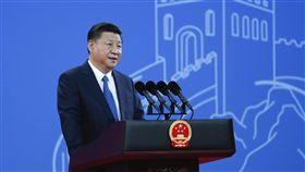 國際刑警組織大會 習近平發表演講國際刑警組織第86屆大會開幕式26日在北京國家會議中心舉行,中國大陸國家主席習近平(圖)發表主旨演講。(中新社提供)中央社 106年9月26日