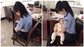 寶寶餓哭…女法警「解衣哺乳」 讓被告媽當庭懺悔認錯 圖/翻攝自陸媒杭州網
